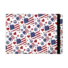 Peace Love America Icreate Ipad Mini 2 Flip Cases