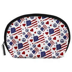 Peace Love America Icreate Accessory Pouches (large)