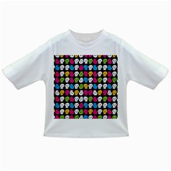 Pattern Painted Skulls Icreate Infant/toddler T Shirts