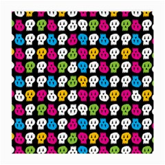 Pattern Painted Skulls Icreate Medium Glasses Cloth (2 Side)