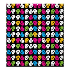 Pattern Painted Skulls Icreate Shower Curtain 66  X 72  (large)