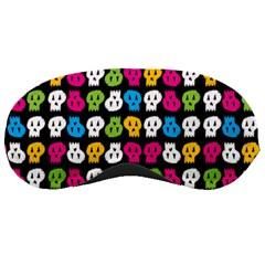 Pattern Painted Skulls Icreate Sleeping Masks