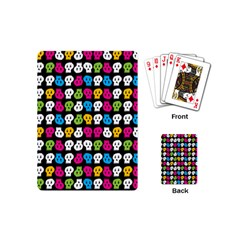 Pattern Painted Skulls Icreate Playing Cards (mini)
