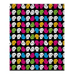 Pattern Painted Skulls Icreate Shower Curtain 60  X 72  (medium)