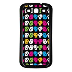Pattern Painted Skulls Icreate Samsung Galaxy S3 Back Case (black)