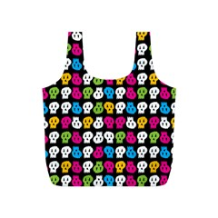 Pattern Painted Skulls Icreate Full Print Recycle Bags (s)