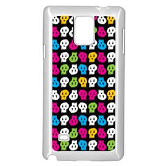Pattern Painted Skulls Icreate Samsung Galaxy Note 4 Case (white)