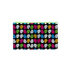 Pattern Painted Skulls Icreate Cosmetic Bag (xs)