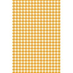 Friendly Houndstooth Pattern, Orange 5 5  X 8 5  Notebooks