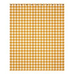 Friendly Houndstooth Pattern, Orange Shower Curtain 60  X 72  (medium)