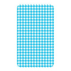 Friendly Houndstooth Pattern,aqua Memory Card Reader