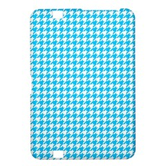 Friendly Houndstooth Pattern,aqua Kindle Fire Hd 8 9
