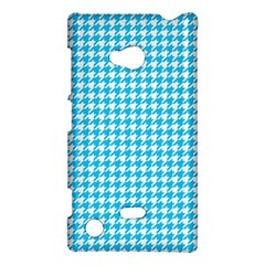 Friendly Houndstooth Pattern,aqua Nokia Lumia 720