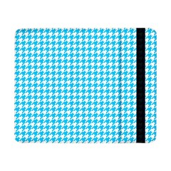 Friendly Houndstooth Pattern,aqua Samsung Galaxy Tab Pro 8 4  Flip Case