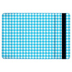 Friendly Houndstooth Pattern,aqua Ipad Air 2 Flip