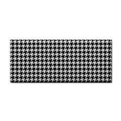 Friendly Houndstooth Pattern,black And White Cosmetic Storage Cases