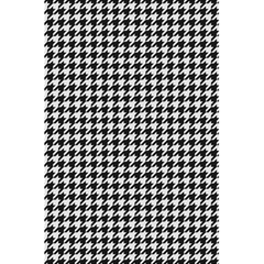 Friendly Houndstooth Pattern,black And White 5 5  X 8 5  Notebooks