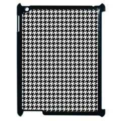 Friendly Houndstooth Pattern,black And White Apple Ipad 2 Case (black)
