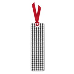 Friendly Houndstooth Pattern,black And White Small Book Marks