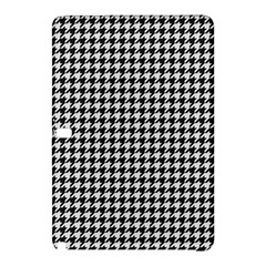 Friendly Houndstooth Pattern,black And White Samsung Galaxy Tab Pro 10 1 Hardshell Case