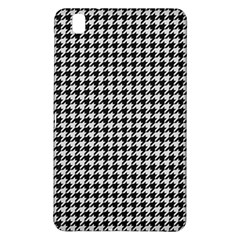 Friendly Houndstooth Pattern,black And White Samsung Galaxy Tab Pro 8 4 Hardshell Case