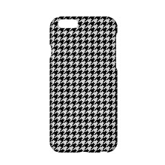 Friendly Houndstooth Pattern,black And White Apple Iphone 6/6s Hardshell Case