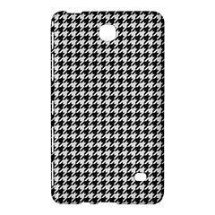 Friendly Houndstooth Pattern,black And White Samsung Galaxy Tab 4 (7 ) Hardshell Case