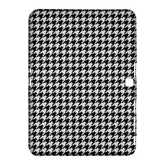 Friendly Houndstooth Pattern,black And White Samsung Galaxy Tab 4 (10 1 ) Hardshell Case