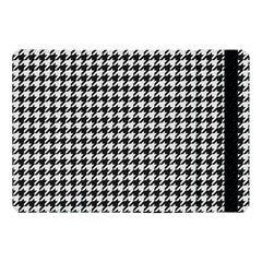 Friendly Houndstooth Pattern,black And White Apple Ipad Pro 10 5   Flip Case