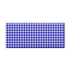 Friendly Houndstooth Pattern,blue Cosmetic Storage Cases