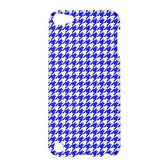 Friendly Houndstooth Pattern,blue Apple Ipod Touch 5 Hardshell Case