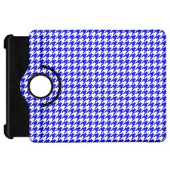 Friendly Houndstooth Pattern,blue Kindle Fire Hd 7