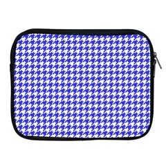Friendly Houndstooth Pattern,blue Apple Ipad 2/3/4 Zipper Cases