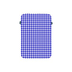 Friendly Houndstooth Pattern,blue Apple Ipad Mini Protective Soft Cases