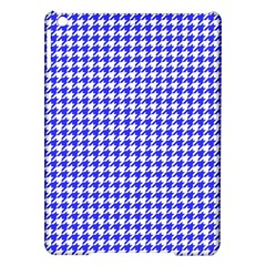 Friendly Houndstooth Pattern,blue Ipad Air Hardshell Cases