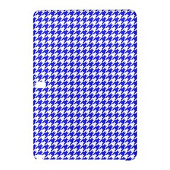 Friendly Houndstooth Pattern,blue Samsung Galaxy Tab Pro 12 2 Hardshell Case
