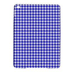 Friendly Houndstooth Pattern,blue Ipad Air 2 Hardshell Cases