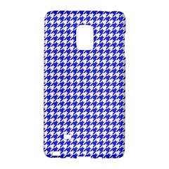 Friendly Houndstooth Pattern,blue Galaxy Note Edge