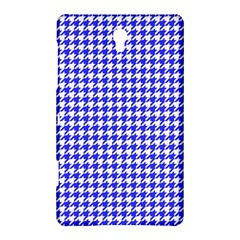 Friendly Houndstooth Pattern,blue Samsung Galaxy Tab S (8 4 ) Hardshell Case