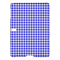 Friendly Houndstooth Pattern,blue Samsung Galaxy Tab S (10 5 ) Hardshell Case