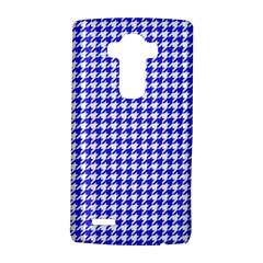 Friendly Houndstooth Pattern,blue Lg G4 Hardshell Case