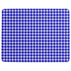 Friendly Houndstooth Pattern,blue Jigsaw Puzzle Photo Stand (rectangular)