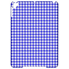 Friendly Houndstooth Pattern,blue Apple Ipad Pro 9 7   Hardshell Case