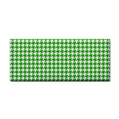 Friendly Houndstooth Pattern,green Cosmetic Storage Cases