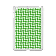 Friendly Houndstooth Pattern,green Ipad Mini 2 Enamel Coated Cases