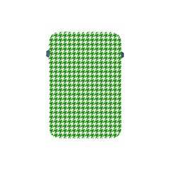 Friendly Houndstooth Pattern,green Apple Ipad Mini Protective Soft Cases