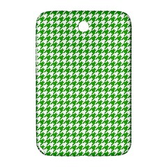 Friendly Houndstooth Pattern,green Samsung Galaxy Note 8 0 N5100 Hardshell Case