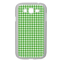 Friendly Houndstooth Pattern,green Samsung Galaxy Grand Duos I9082 Case (white)
