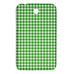 Friendly Houndstooth Pattern,green Samsung Galaxy Tab 3 (7 ) P3200 Hardshell Case