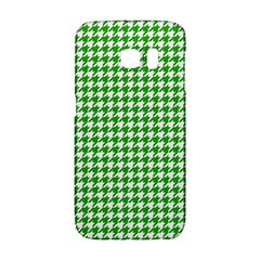 Friendly Houndstooth Pattern,green Galaxy S6 Edge